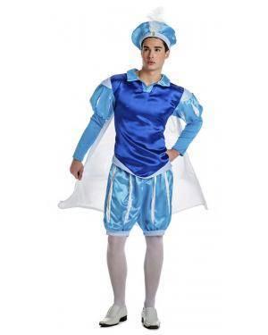 Fato Principe Azul Tamanho M/L para Carnaval