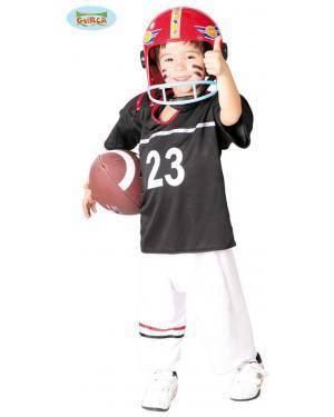 Fato Quarterback Infantil, Loja de Fatos Carnaval, Disfarces, Artigos para Festas, Acessórios de Carnaval, Mascaras, Perucas, Chapeus 310 acasadocarnaval.pt