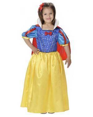 Fato de Rainha da Neve Infantil para Carnaval | A Casa do Carnaval.pt