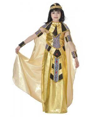 Fato de Rainha do Nilo Egípcia Infantil para Carnaval | A Casa do Carnaval.pt