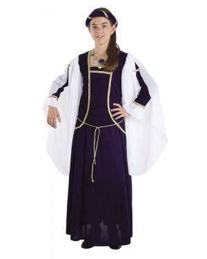 Fato de Rainha Medieval Infantil para Carnaval | A Casa do Carnaval.pt