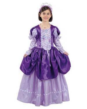 Fato de Rainha Roxa Infantil para Carnaval | A Casa do Carnaval.pt
