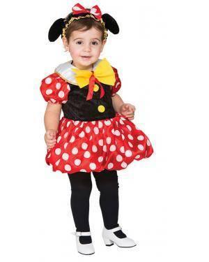 Fato Ratinha Bebé de 1-2 anos Disfarces A Casa do Carnaval.pt