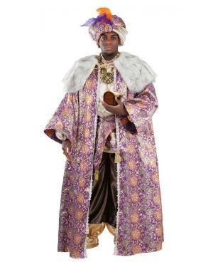 Fato de Rei Baltasar Luxo Adulto XL para Carnaval | A Casa do Carnaval.pt