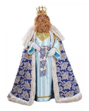 Fato de Rei Gaspar Luxo Adulto XL para Carnaval | A Casa do Carnaval.pt