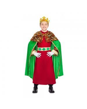 Fato Rei Mago Verde para Carnaval
