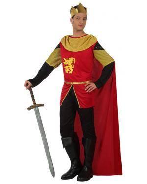 Fato Rei Medieval Adulto Disfarces A Casa do Carnaval.pt