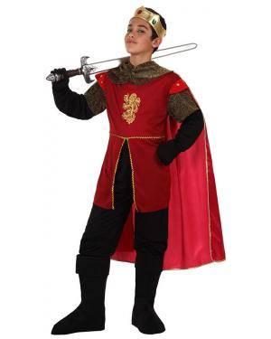 Fato Rei Medieval Menino Disfarces A Casa do Carnaval.pt