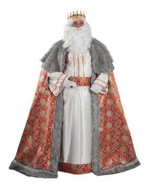 Fato de Rei Melchior Luxo Adulto XL para Carnaval | A Casa do Carnaval.pt