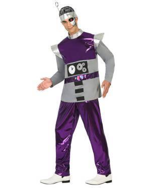 Fato Robot Homem Adulto M/L, Loja de Fatos Carnaval, Disfarces, Artigos para Festas, Acessórios de Carnaval, Mascaras, Perucas 680 acasadocarnaval.pt