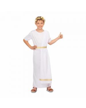 Fato Romano Branco para Carnaval
