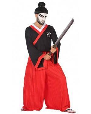 Fato Samurai Adulto para Carnaval