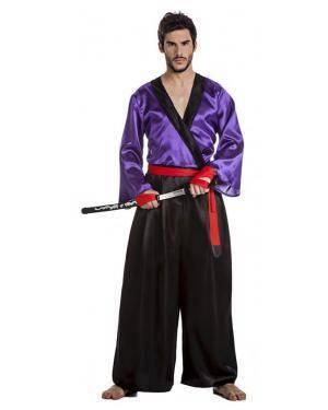 Fato Samurai Homem para Carnaval