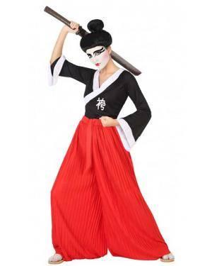 Fato Samurai Mulher para Carnaval