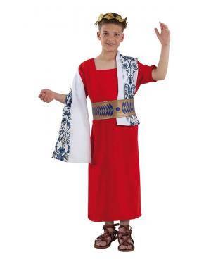Fato de Senador Romano Infantil para Carnaval | A Casa do Carnaval.pt