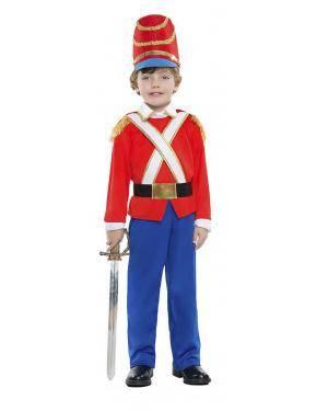 Fato Soldado de Chumbo 3-4 Anos Disfarces A Casa do Carnaval.pt