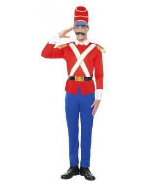 Fato Soldado de Chumbo Tamanho M/L para Carnaval
