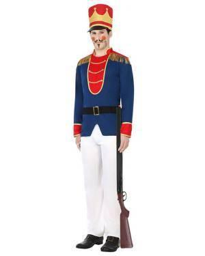 Fato Soldado Francês Homem Adulto M/L Disfarces A Casa do Carnaval.pt