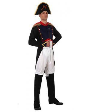 Fato Soldado Francês Napoleão Adulto, Loja de Fatos Carnaval, Disfarces, Artigos para Festas, Acessórios de Carnaval, Mascaras, Perucas 320 acasadocarnaval.pt