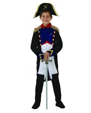 Fato Soldado Francês Napoleão Menino, Loja de Fatos Carnaval, Disfarces, Artigos para Festas, Acessórios de Carnaval, Mascaras, Perucas 149 acasadocarnaval.pt