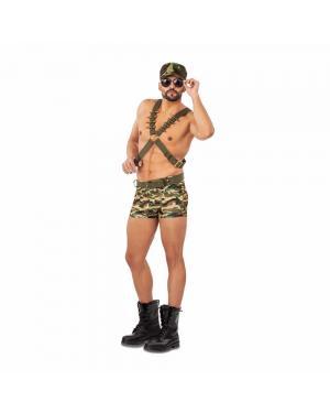 Fato Soldado Sexy para Carnaval