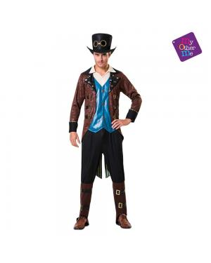 Fato Steampunk Homem para Carnaval