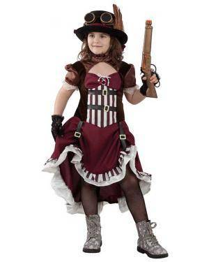 Fato de Steampunk Menina para Carnaval | A Casa do Carnaval.pt