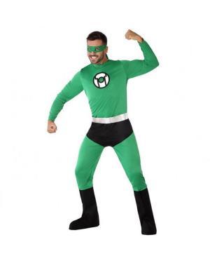 Fato Super Herói Verde Adulto para Carnaval