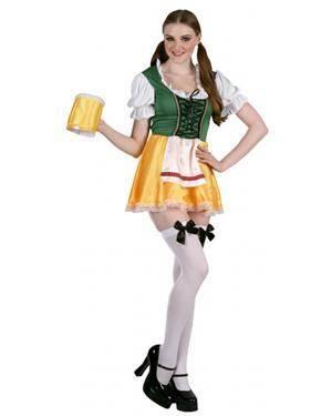 Fato Tirolêsa com Cerveja Adulto Disfarces A Casa do Carnaval.pt