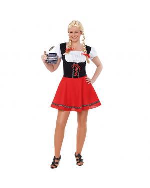Fato Tirolêsa Tradicional Adulto para Carnaval