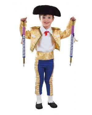 Fato de Toureiro Bebé 24 Meses para Carnaval | A Casa do Carnaval.pt