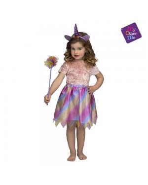 Fato Unicornio Roxo 3 a 6 Anos para Carnaval