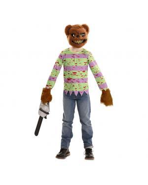 Fato Urso Assassino Menino para Carnaval