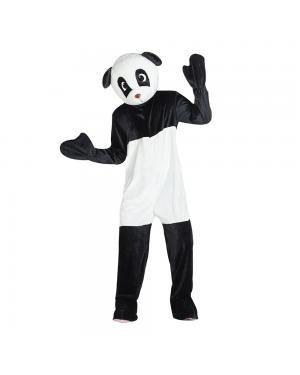 Fato Urso Panda Mascote Gigante para Carnaval