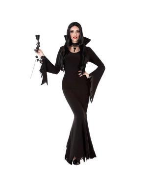 Fato Vampiresa Adulto para Carnaval