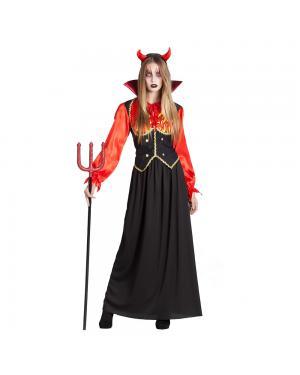 Fato Vampiresa Chamas para Carnaval