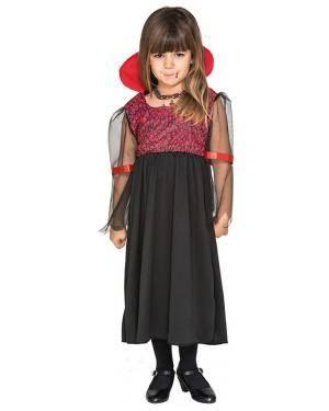 Fato Vampiresa Menina de 2-3 Anos Disfarces A Casa do Carnaval.pt