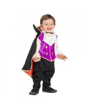 Fato Vampiro com Capa Bebé para Carnaval