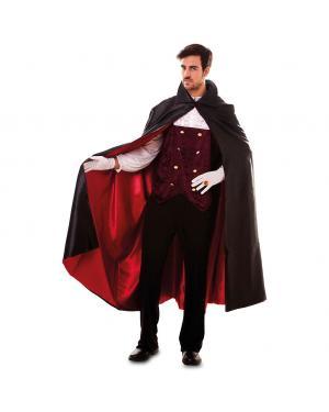 Fato Vampiro Conde Dracula Adulto para Carnaval
