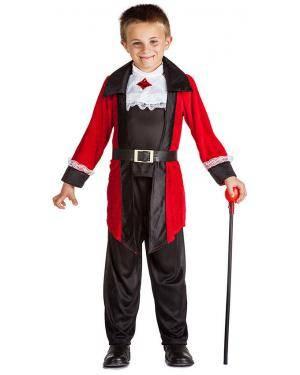 Fato Vampiro Elegante para Carnaval ou Halloween 5409 - A Casa do Carnaval.pt