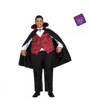 Fato Vampiro Gordo M/L para Carnaval
