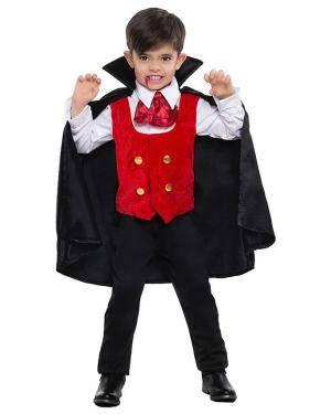 Fato Vampiro Menino para Carnaval ou Halloween 7202 - A Casa do Carnaval.pt