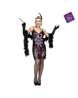 Fato Vestido Estrelas M/L para Carnaval