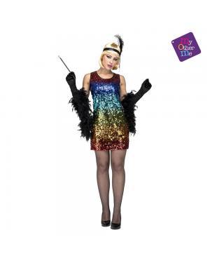 Fato Vestido Lantejoulas M/L para Carnaval