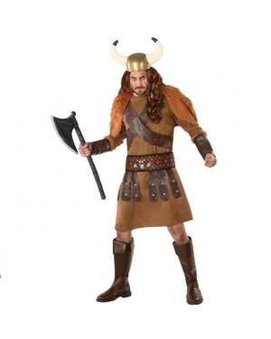 Fato Viking Adulto para Carnaval