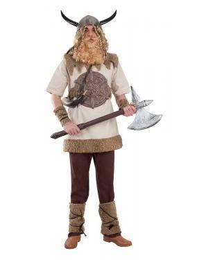 Fato de Viking Homem Adulto XL para Carnaval | A Casa do Carnaval.pt