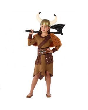 Fato Viking Menina para Carnaval