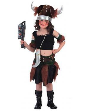 Fato Viking Menina Disfarces A Casa do Carnaval.pt