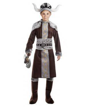 Fato Viking Menino 7-9 Anos Disfarces A Casa do Carnaval.pt