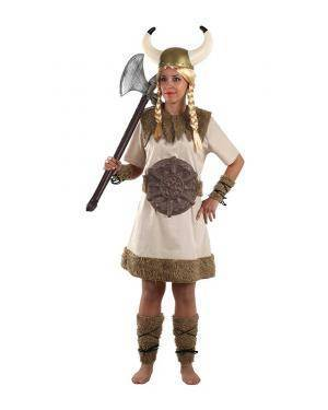 Fato de Viking Mulher Adulto M/L para Carnaval | A Casa do Carnaval.pt